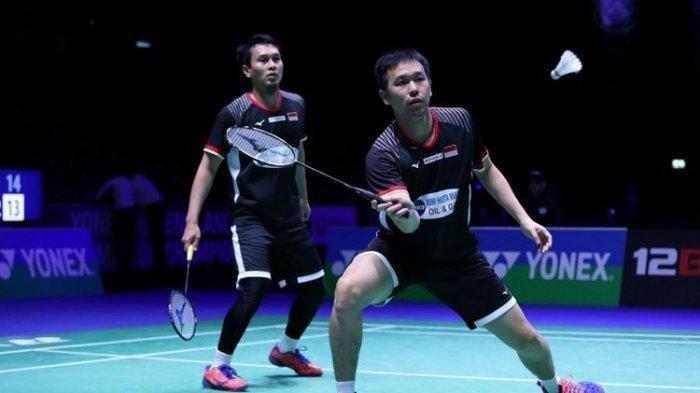 Sedang Berlangsung! Link Live Streaming YouTube Malaysia Master 2020: Ahsan/Hendra dan Fajar/Rian