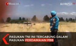 Viral! Video Pasukan TNI Hadang Tank Israel yang Hendak Serang Lebanon